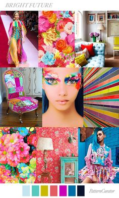 BRIGHT FUTURE by PatternCurator for Fashion Vignette