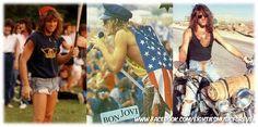 Jon Bon Jovi in the 80s