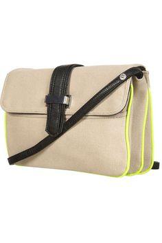 Topshop Fluro Trim Crossbody Bag, $56