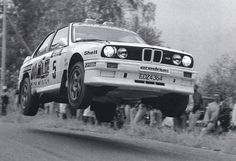 Ari Vatanen on a Rally Spec M3 E30
