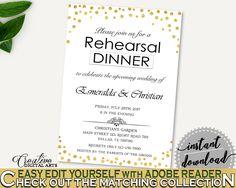 Rehearsal Dinner Invitation Bridal Shower Rehearsal Dinner Invitation Confetti Bridal Shower Rehearsal Dinner Invitation Bridal Shower CZXE5 #bridalshower #bride-to-be #bridetobe