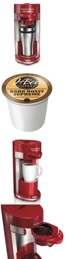 Single Serve Brewers 156775 Hamilton Beach Flexbrew Programmable