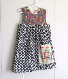 REVERSIBLE SimpleMod Jumper  I love this fabric