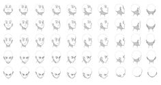 Drawing reference face angles animation new ideas Drawing Heads, Drawing Poses, Drawing Tips, Drawing Board, Head Angles, Face Angles, Poses Manga, Tips & Tricks, Anatomy Tutorial