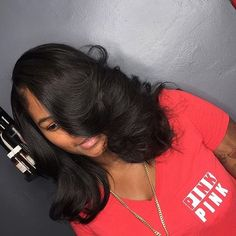 STYLIST FEATURE| Beautiful install by #BostonStylist @crownedbyher ❤️ #voiceofhair ========================== Go to VoiceOfHair.com ========================= Find hairstyles and hair tips! =========================