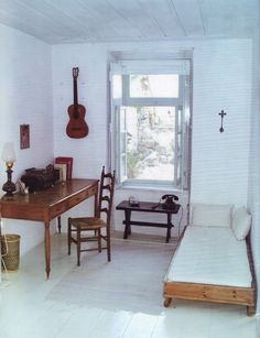 Leonard Cohen's room in Hydra