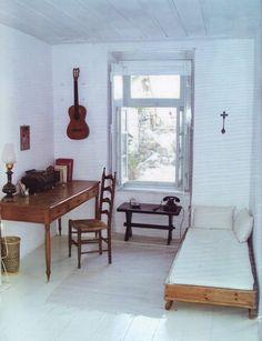 Leonard Cohen's room in Hydra