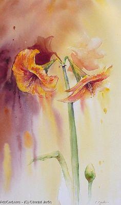 Artwork >> Chantal Jodin >> amaryllis