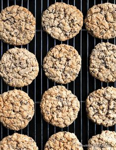 Oatmeal Chocolate Chip Cookies Recipe | http://shewearsmanyhats.com/oatmeal-chocolate-chip-cookies-recipe/