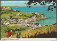 Portmellon near Mevagissey, Cornwall, c.1970s - John Hinde Postcard