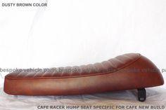 Cafe Racer Hump Seat For SUZUKI HONDA YAMAHA SR GS CG GN Universal Aftermarket  #Aftermarketparts