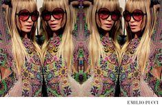 emilio-pucci-spring-summer-2015-ad-campaign05 - Inez & Vinoodh - Natasha Poly