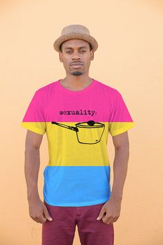 Chemise de fierté pansexual - fierté mois LGBTQIA +
