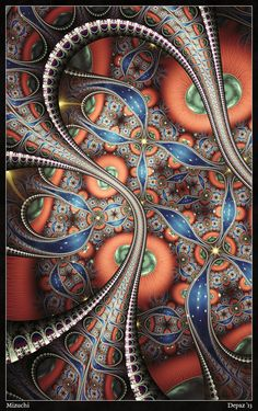 Mizuchi by ~depaz on deviantART ~ fractal art