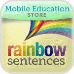 Sentence building based on color.