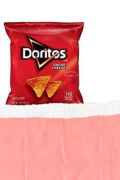 Doritos Nacho Cheese Flavored Tortilla Chips, 1 oz (Pack of 40) Nacho Cheese, Doritos, Tortilla Chips, Nachos, Chips