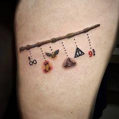 Tattoos on back – Tattoos And Wand Tattoo, Hp Tattoo, Tattoo Neck, Mini Tattoos, Small Tattoos, Fake Tattoos, Band Tattoos For Men, Tattoos For Guys, Incredible Tattoos