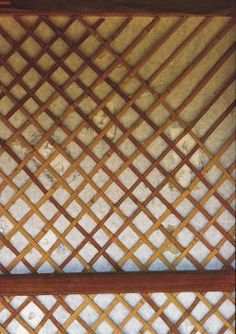 How To Install A Framed Lattice Panel Onto A Deck Post