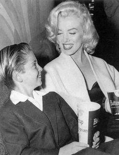 Marilyn Monroe photographed in 1953.