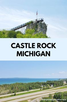 michigan summer vacation spots, ideas, places in the US. michigan things to do upper peninsula up north. US outdoor vacation road trip midwest
