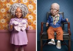 Photographers of children dressed as old people by Zachary Scott for the New York Times | Metro News