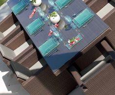 Столовая PACIFIC - высокая посадка кресел для комфортного пребывания за столом. Всегда на складе в Москве. 🌴🌴🌴🌴🌴Мебель выполнена из синтетического волокна REHAU, на алюминиевом каркасе. Модель дополнена подушками со съемными чехлами, из ткани SUNBRELLA #sunbrella 🌞🌞🌞🌞🌞 #skylinedesign #skldesign #skldr #outdoorfurniture #уличнаямебель #мебельизискусственногоротанга #садоваямебель #мебельдлягостиницы #мебельдляресторана #мебельдляулицы #sunbrella #horeca #хорека #rehau…