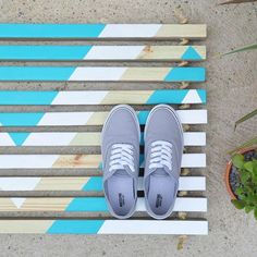 I teamed up with @homedepot and a bunch of amazing bloggers (you can find them tagged on my blog) to create a fun twist on their DIY Wooden Doormat project! Here's my version - a fun, colorful geometric mat! What do you guys think!? Head on over to my blog today (link in profile ☝️) for the full tutorial and to find out how you can sign up to make your own mat at your local Home Depot's FREE DIY workshop!