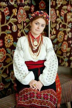Poltava bride; white-on-white eyelet embroidery is very old