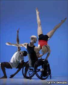 disabled dance company | Candoco work with disabled and non-disabled dancers