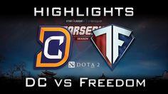 DC vs Freedom Starladder i-League 2017 AM Highlights Dota 2