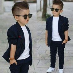 cool Modern fade for little boys / kids hair cut...