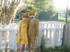 Have a great weekend everyone. Are you getting ready for Halloween or going to some fun parties? I love this Fantastic Mr. & Mrs. Fox costume idea.