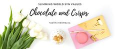 Wondering how many syns are in snacks? I have put together a handy guide of all my favourite Slimming World syn values for chocolate and crisps Slimming World Syn Values, Slimming World Recipes, Crisp, Hair Accessories, Place Card Holders, Chocolate, My Favorite Things, Snacks, Tin