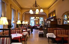 Wiener Kaffeehäuser Places To Go, Conference Room, Bar, Table, Furniture, House, Vienna, Austria, Home Decor