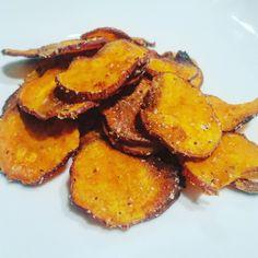 Crispy Sweet Potato Chips — JESS DUKES