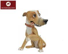 Die meisten Hundedekofiguren sind wirklich hässlich, aber diese hier ist wirklich lustig. :D