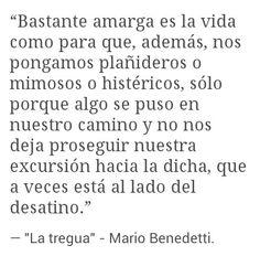 """Mario Benedetti, """"La tregua"""""""