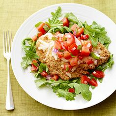 Chicken parm is a classic Italian favorite -- here's how to make it in your own kitchen. #protein #myplate