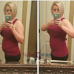 . Get amazing results with the NuTrim Waist Undetectable Trainer! Invisible under clothing and latex free this body shaper is perfect for a night out or a night in. It will target fat around your love handles lower back and abdomen while giving you an hourglass figure and relieving back pain. Get this one of a kind waist trainer now for only $45and #FREESHIPPING with code: FreeShip . Click the link in my bio to order now! Be sure to order a size up on this style. .  #postpartum #fitness…
