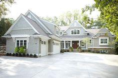 Rock exterior house plans