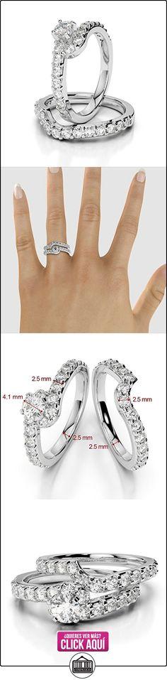 AG & Sons Hombre  750 Gold  oro blanco Round Brilliant Cut   G-H diamante  ✿ Joyas para hombres especiales - lujo ✿ ▬► Ver oferta: https://comprar.io/goto/B01I5F29WS