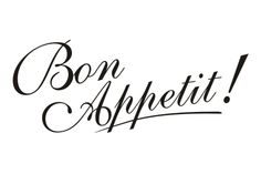 Cytaty, sentencje, napisy 30 - Bon Appetit !