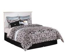 Ashley Bostwick Shoals 6 PC E King Panel Headboard Bedroom Set with Two Nightstand  #AshleyBedroomSets