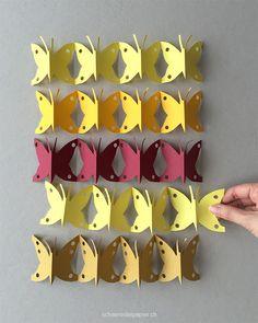 schaeresteipapier: Tag- und Nachtfalter - Ribambelles für den Frühling