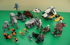 LEGO-Star-Wars-Mini-Sets-1-by-Henry.jpg 600×385 ピクセル