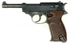 Walther P38, 9 mm, 5 in, 8 rounds #Firearms #Historical #NaziGermany