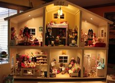 Dollhouse: Updated Pics of my daughters AG house | American Girl Playthings!