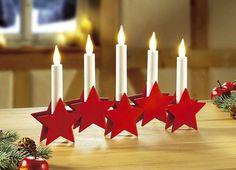 Fensterleuchter - Fensterdekorationen - Weihnachten | Brigitte Hachenburg Exquisit