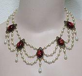 Renaissance Jewelry, Fashion Jewelry, Costume Jewelry, Vintage Jewelry at Illusion Jewels 1602 Renaissance Necklace Choice of Colors Renaissance Jewelry, Medieval Jewelry, Victorian Jewelry, Antique Jewelry, Vintage Jewelry, Pirate Jewelry, Loc Jewelry, Beaded Jewelry, Wiccan Jewelry