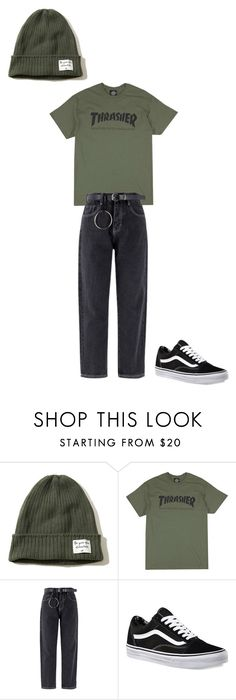 """""""Untitled #137"""" by frederikkematilder on Polyvore featuring Hollister Co. and Vans"""